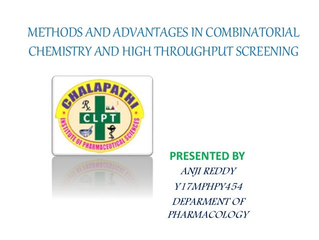 Archive for the 'High Throughput Screening' Category