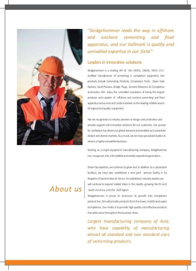 Sledgehammer Oil Tools Pvt  Ltd