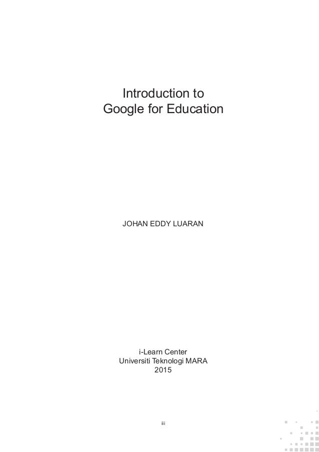 google introduction Material design – introduction menu the classic principles of good design with the innovation and possibility of technology and science this is material design.