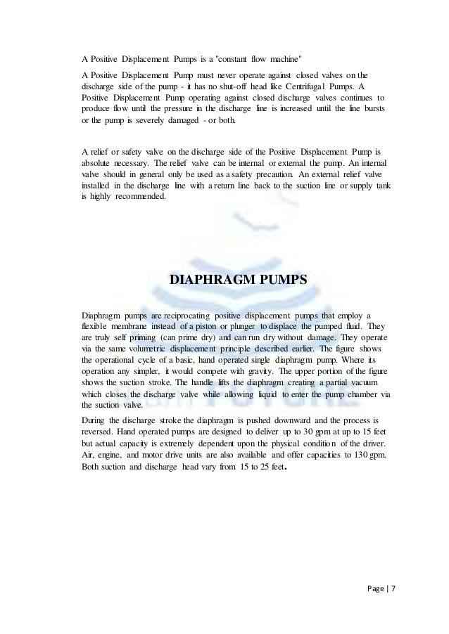 Reciprocating pump pdf