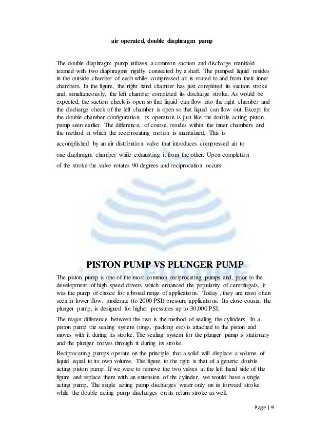 Reciprocating pump pdf 13 page 9 air operated double diaphragm pump ccuart Gallery