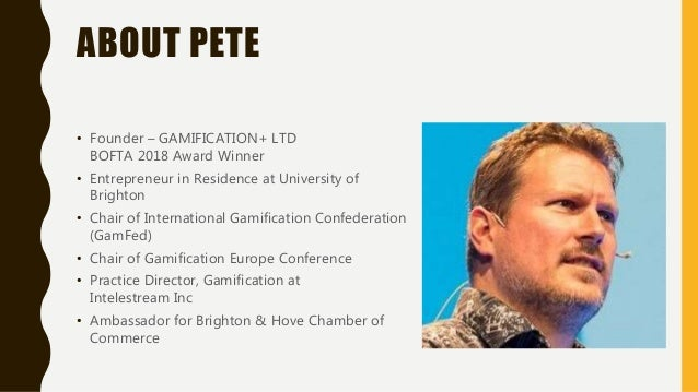Export journey and insight into gamification Slide 2