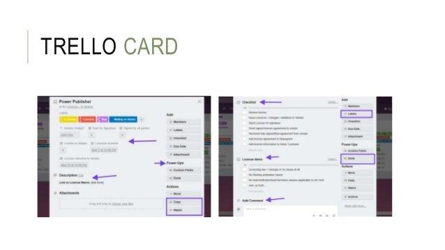 TRELLO CARD
