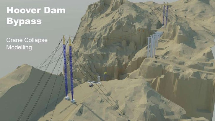 Hoover Dam Bypass Crane Collapse Modeling
