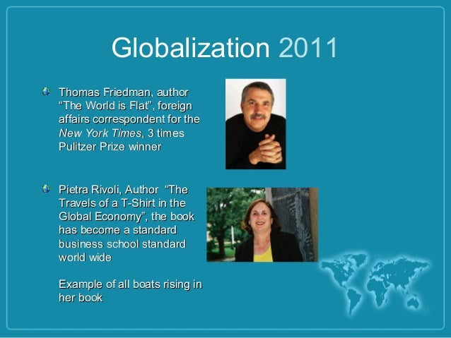 Combined globalization 5 for The travels of at shirt in the global economy pdf