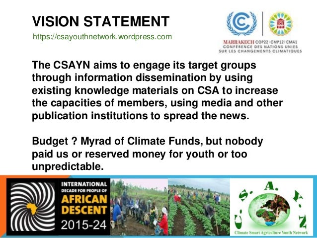 CSAYN PAST PROGRAMS ❑2014 - Inception of CSAYN in Cameroon as the HQ ❑2014 - DRC (Central African ),Togo (East Africa), Ni...