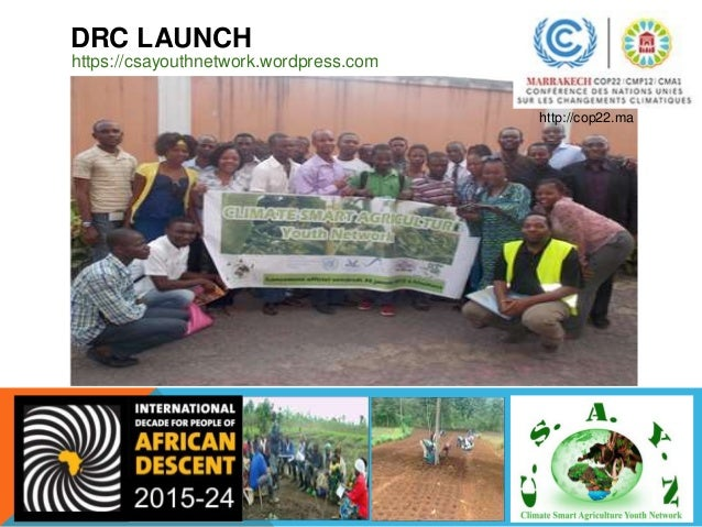 CAMEROON INCEPTION OF THE AYSDGT https://csayouthnetwork.wordpress.com http://cop22.ma AYSDGT = African Youth for the SDG ...