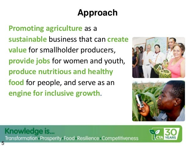 Opportunities & Incentives  Demographic changes & emergence of consumers conscious of food quality & environ footprints. ...