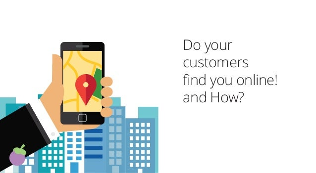 Do your customers find you online! and How?
