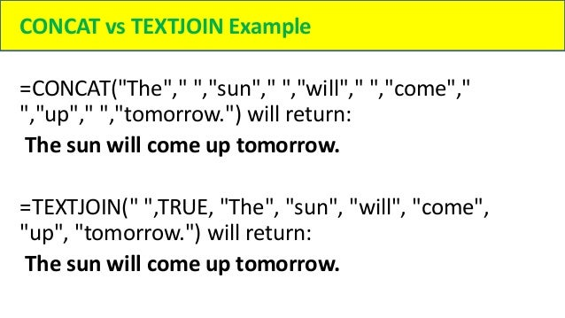 How to Combine text from two or more cells in Excel
