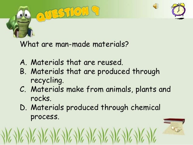 Combine use of m aterials for What we make from waste material