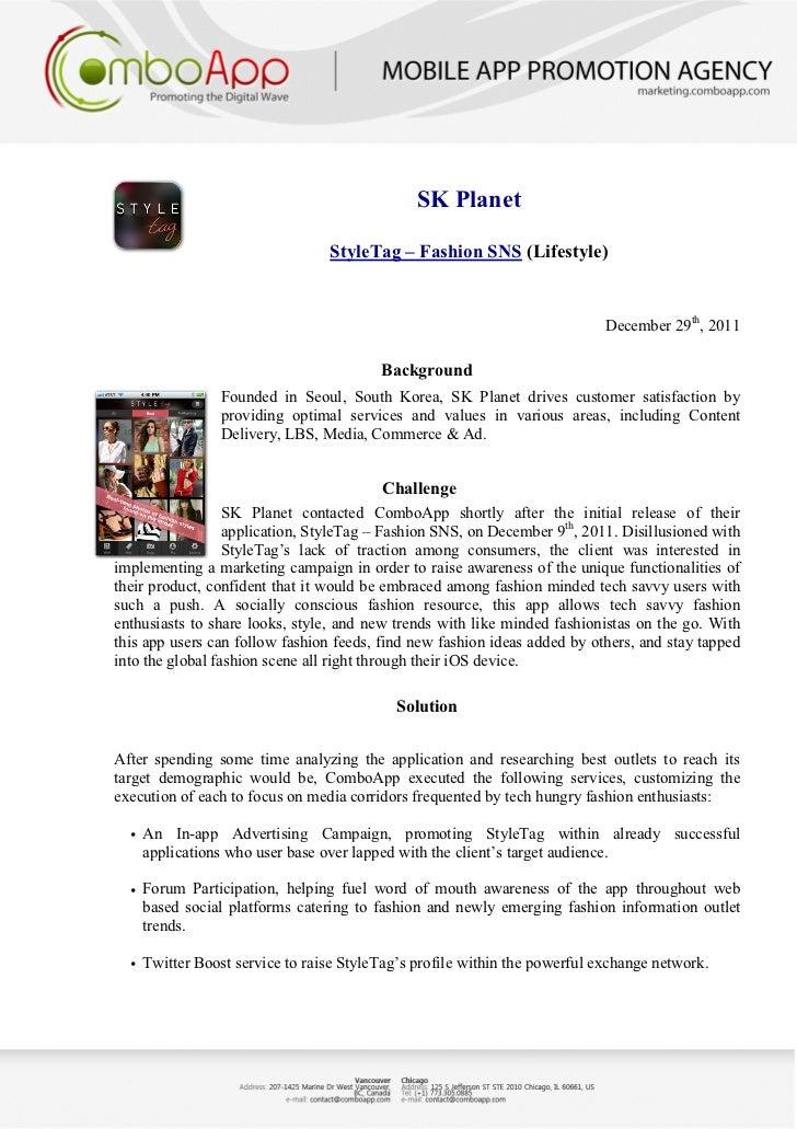 iPhone App Marketing: ComboApp Case Studies 2010-2011