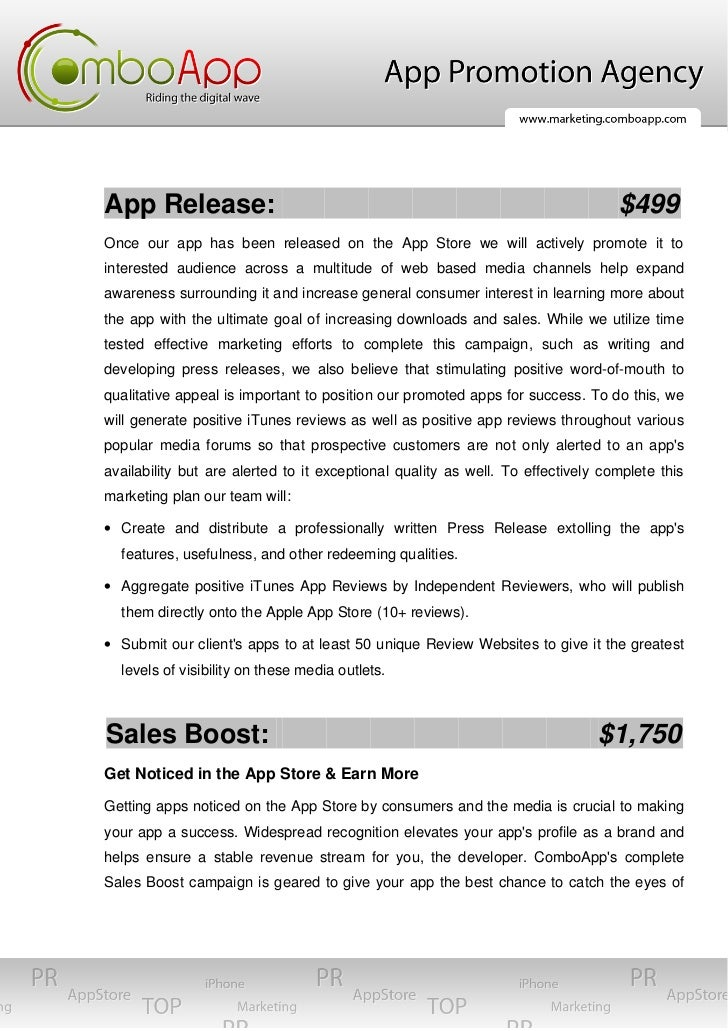 App Release:                                                                     $499Once our app has been released on the...