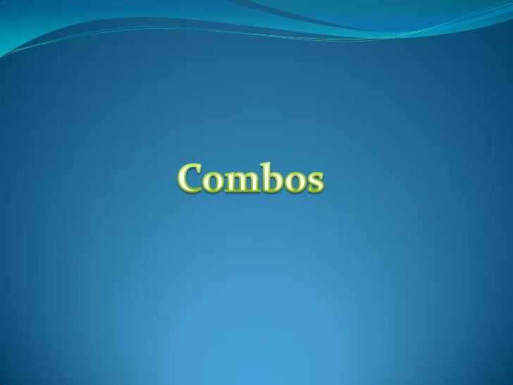 Combos<br />
