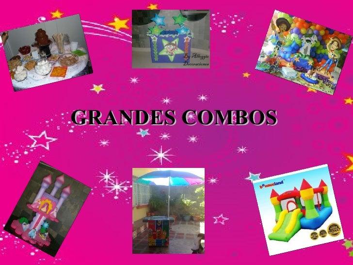 GRANDES COMBOS