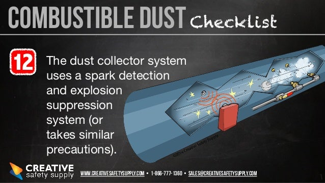 19 Ways To Deal With Combustible Dust