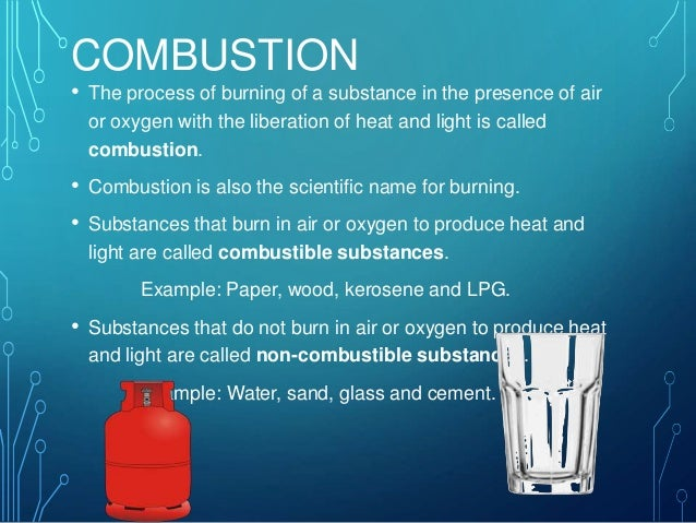 Combustion And Fossil Fuels