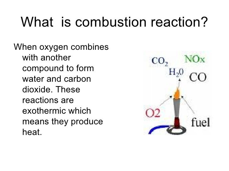 Combustion Reactions Slideshow123