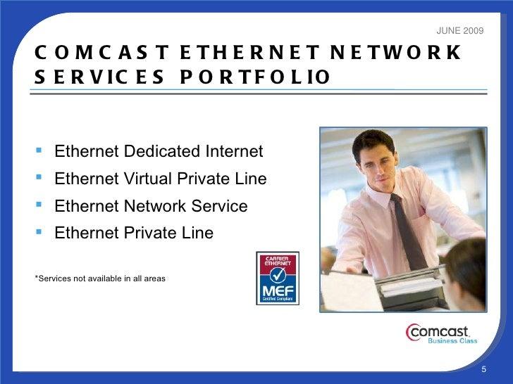 Comcast Business Ethernet Fiber Service