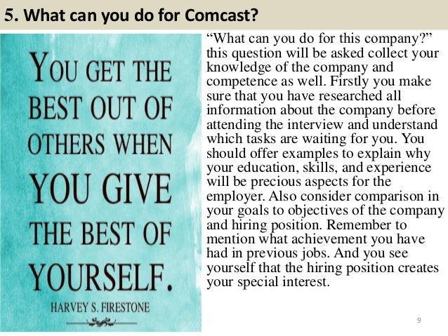 53 comcast interview questions and answers pdf 9 5 what can you do for comcast solutioingenieria Images