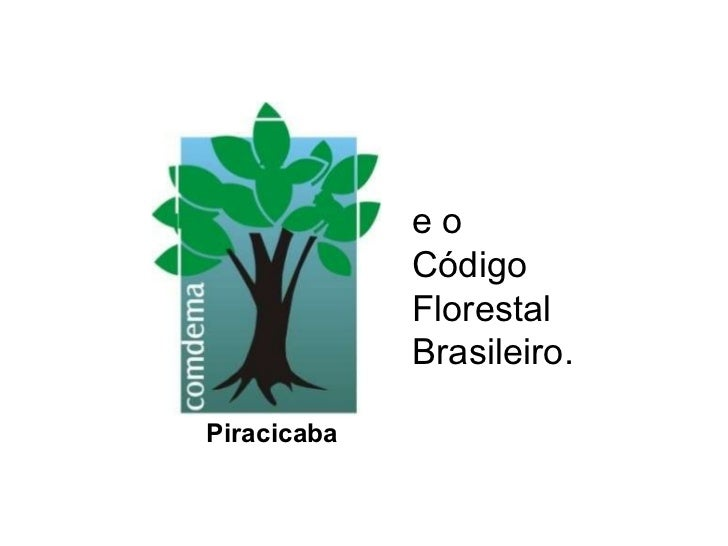 e o  Código  Florestal Brasileiro. Piracicaba
