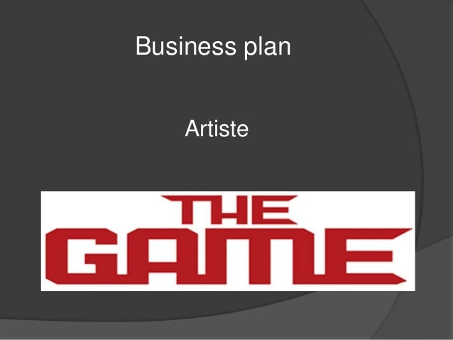 Business plan    Artiste