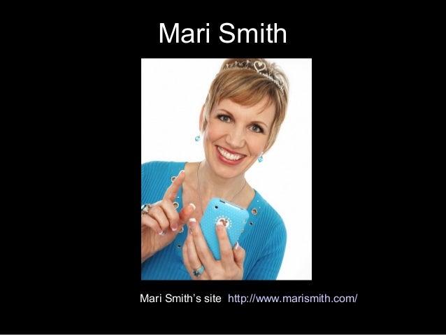 Mari Smith Mari Smith's site http://www.marismith.com/