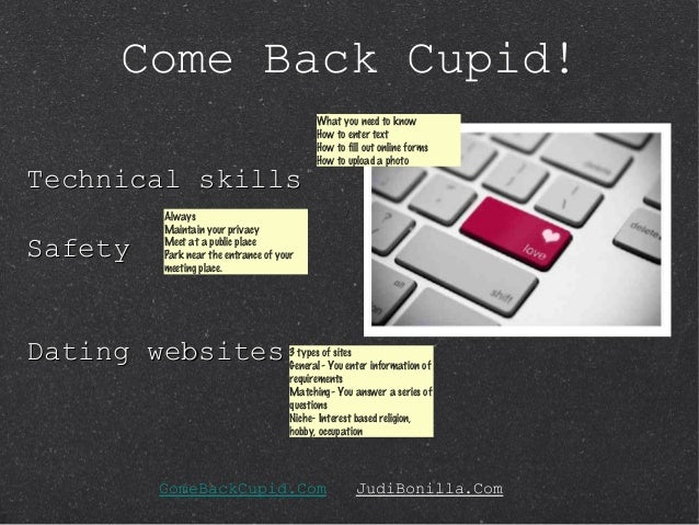 Come Back Cupid  Online Dating Tips for Seniors SlideShare