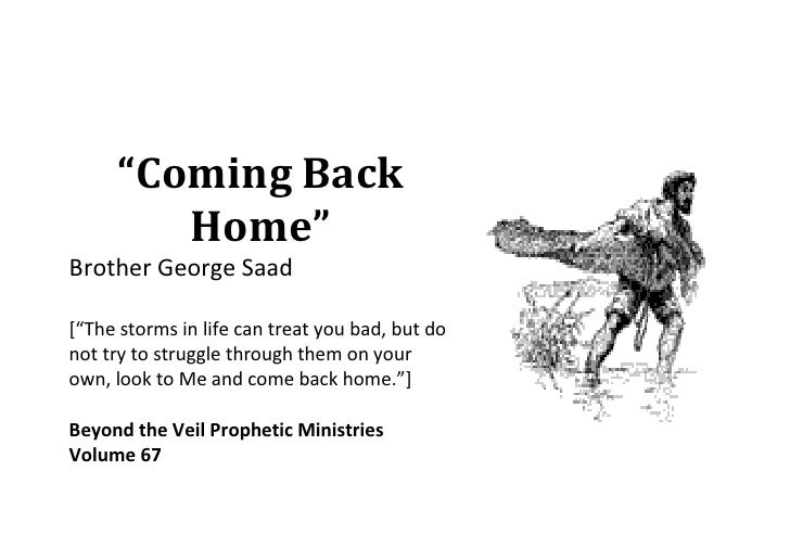 Come Back Home with George Saad