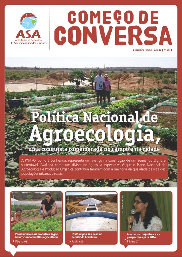 Boletim Começo de Conversa 5ª edição