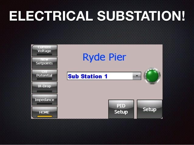 ELECTRICAL SUBSTATION!