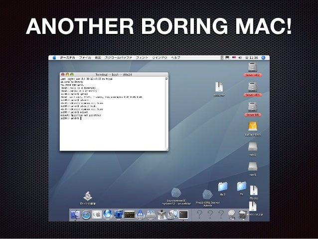 ANOTHER BORING MAC!