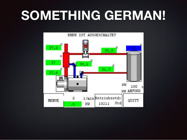 SOMETHING GERMAN!