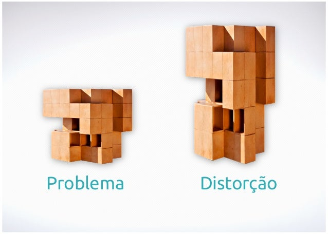 Problema  Distorção