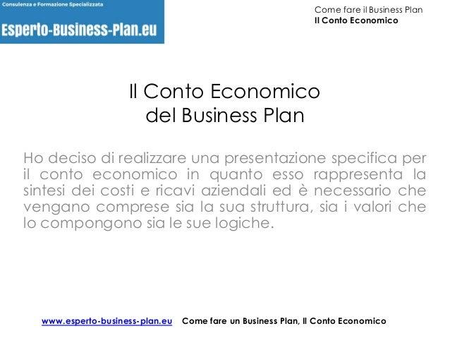 Business Plan Ristorante