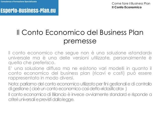 Modello Di Business Business Plan