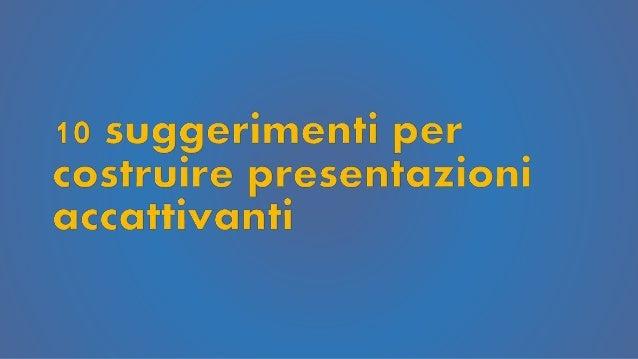 Un ( terribile) standard classico Spesso le presentazioni sono simili a questa slide, noiose e brutte, simili a un blocco ...