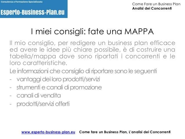 Fare un business plan ecommerce
