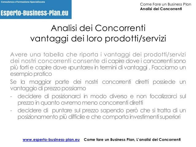 modello business plan gelateria