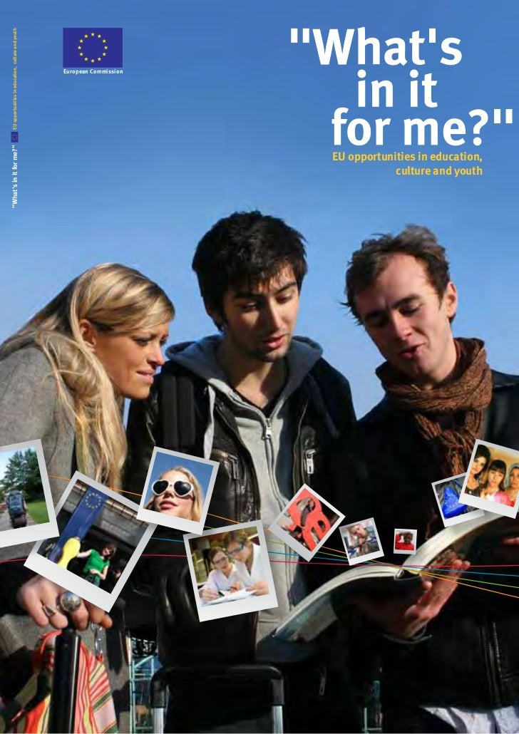 EU opportunities in education, culture and youth                                                                          ...