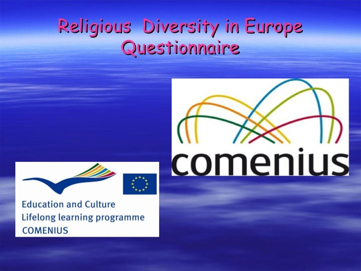 Religious Diversity in Europe        Questionnaire