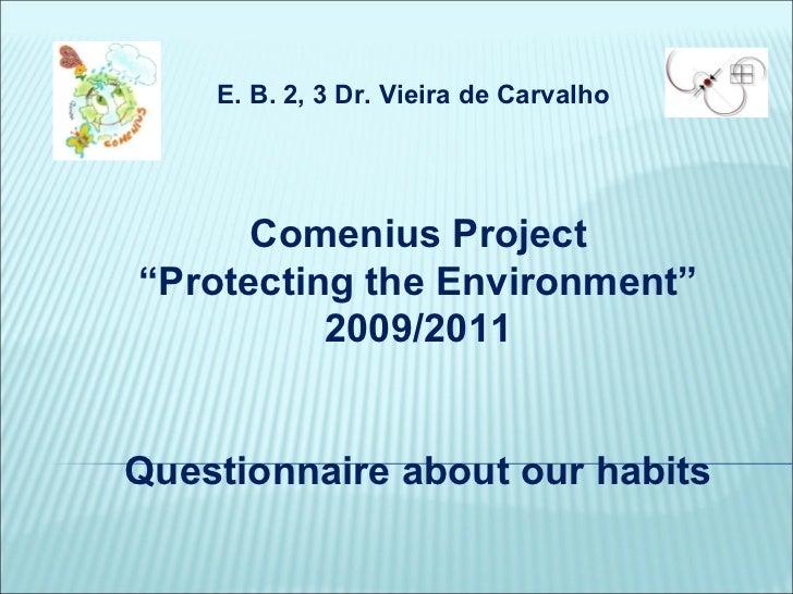 Comenius[1] inquérito