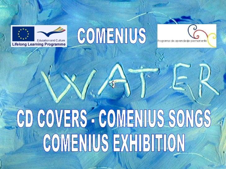 COMENIUS CD COVERS - COMENIUS SONGS COMENIUS EXHIBITION