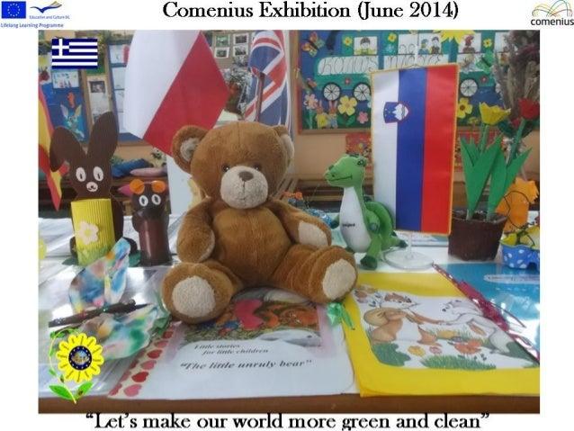 Comenius exhibition  june 2014