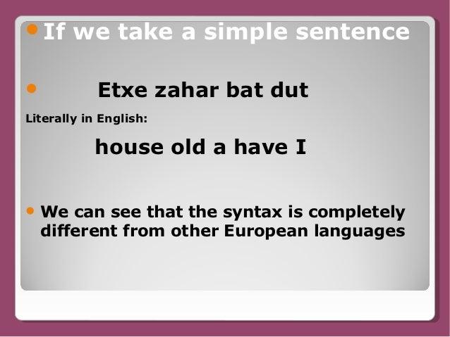 Basque language | Britannica.com