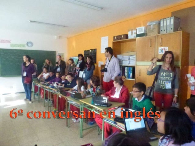Visita de los profesores Comenius a nuestro centro.Gracias al Ceip Valsequillo por compartir con nosotros.