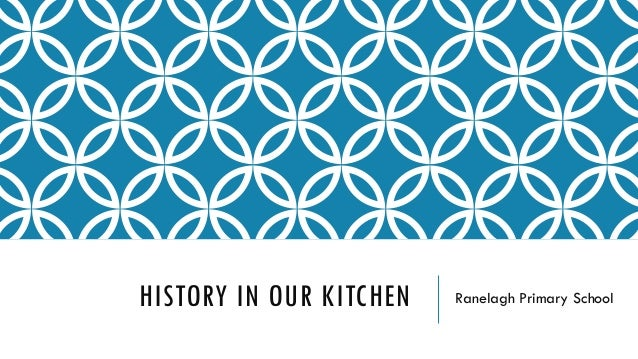HISTORY IN OUR KITCHEN Ranelagh Primary School