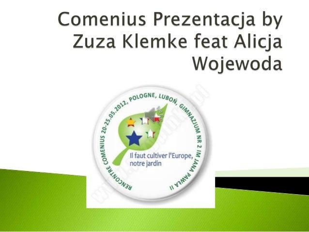 Comenius prezentacja by zuza klemke feat alicja wojewoda