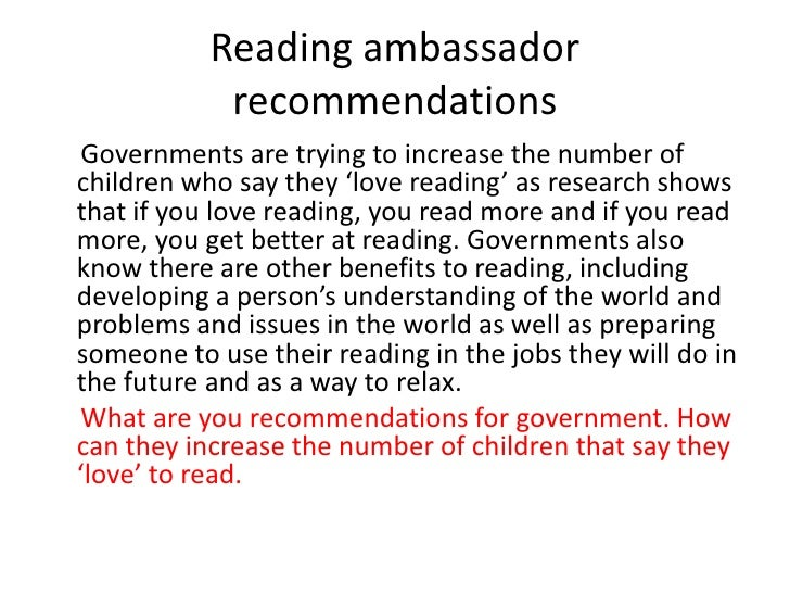 English teachers selected books to use with children based on what they read as a child (73% - significantly more than oth...