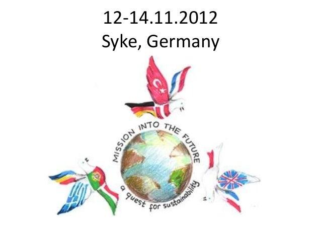 12-14.11.2012Syke, Germany